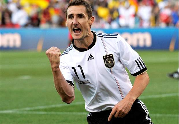 All-time German topscorer at the World Cup Miroslav Klose