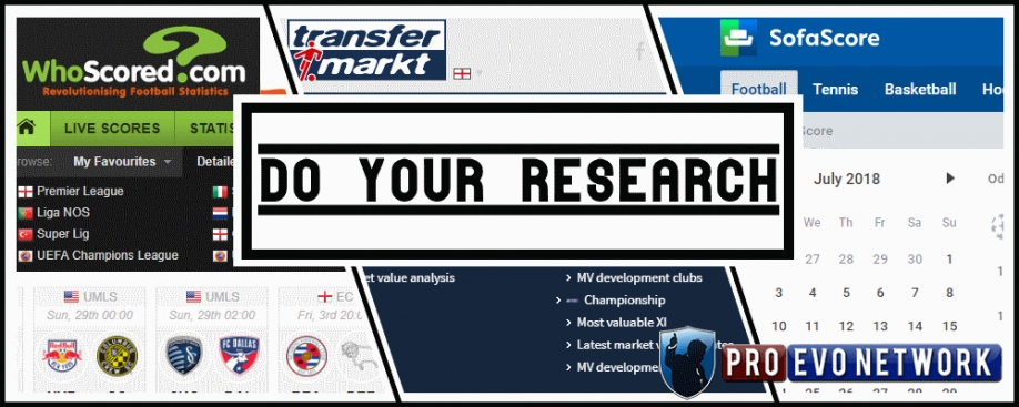 Do Your Research - PEN Transfer Market