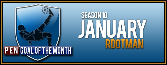 Goal Of the Month - January
