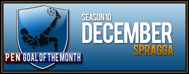 Goal Of the Month - December