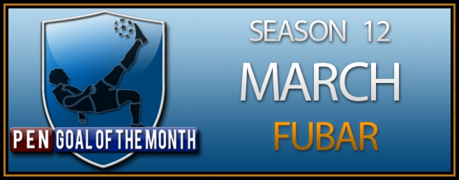 Goal of the Month - March