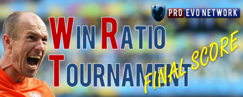 Final Win Ratio Tournament Update of PES'17